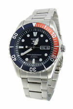 Silver Band Diver Wristwatches