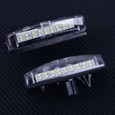 2x White 18LED License Number Plate Light Lamp  for Toyota Camry Prius Lexus