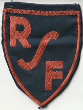Insigne tissus patch - RSF (Rayon Sportif Feminin) Cyclisme