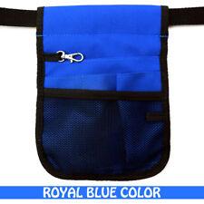 Nurse Vet  Physio Teacher Medical Professions Waist Belt Pouch Bag - Royal Blue