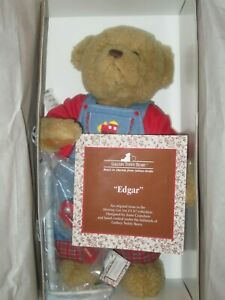 "NEW IN BOX ASHTON DRAKE GALLERY TEDDIES ""Edgar"""