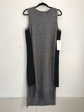NWT ATHLETA Merino Wool Grey Midi Dress Medium $98