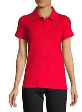 BNEW Tommy Hilfiger Performance Short-Sleeve Cotton Blend Women Polo Shirt,Small