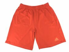 Adidas Climalite Mens Loose Red Elastic Waist Pockets Athletic Shorts Size XL