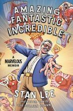 Amazing Fantastic Incredible : A Marvelous Memoir by Peter David, Stan Lee and Colleen Doran (2015, Hardcover)
