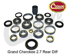Jeep Grand Cherokee 2.7 CRD Rear Differential Bearing & Seal Kit WJ WG 99-05