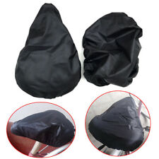 Bike seat waterproof rain covers and dusts resistant bicycle saddle cover useful