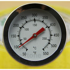 Precise Convenient Temperature Stainless Steel Meat Thermometer with Large Dial