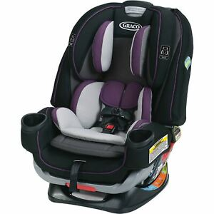 Graco 4Ever Extend2Fit 4-in-1 Convertible Car Seat, Jodie Purple