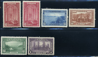 Canada #241-245 mint F-VF/VF OG LH/H 1938 King George V Pictorial Issue Set