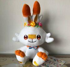 Pokemon Center JP Scorbunny Hopplo Pokemon Easter Plush Plüsch