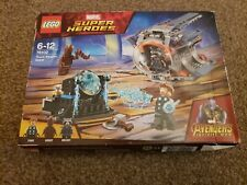 LEGO 76102 AVENGERS INFINITY WAR 76102 THORS WEAPON QUEST damage box