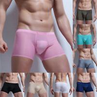 Sexy Boxershorts Herren Unterwäsche Männer Unterhose Slips Boxer Briefs Seamless