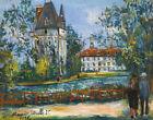 Maurice Utrillo Castle Of Saintines Oise Canvas Print 16 x 20    # 63900