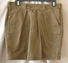 Isabel Marant Brown Linen/Cotton Short Skirt Size 1/Small