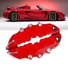 4Pcs 3D Style Car Universal Disc Brake Caliper Covers Front & Rear Kit Durable G