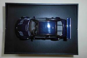 Modell schwarz Minichamps BMW M3 GTR 2001  1:43 Limited Edition 2000 Stück