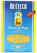 Dececco Acini Di Pepe Pasta 16 OZ (Pack of 6)
