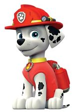 "Paw Patrol ( Marshall ) Iron On Transfer 4.5""x7"" for LIGHT Colored Fabric"
