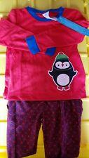 Avon Products Kids Unisex 2-Piece Pajama Set 6/6X Penguin Nip