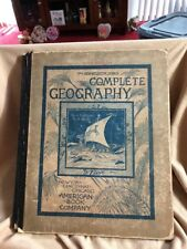 The New Eclectic Series Complete Geography Ohio Edition Antique Book 1883 Maps+