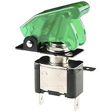 Green Toggle Switch Control 12V ON OFF Car Truck Boat Airplane Motor SPST Sales