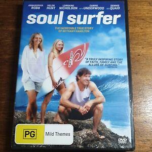Soul Surfer DVD R4 LIKE NEW FREE POST