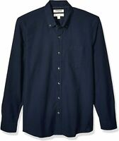 """Brand - Goodthreads Men's """"The Perfect Oxford Shirt"""", Navy, Size Large"""