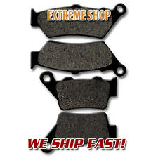 BMW Front + Rear Brake Rotor Pads G 650 GS (09-16) F650 CS Scarver (2000-2007)