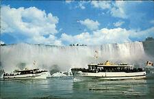 Schiffe USA Schiffsfoto-AK MAID OF THE MIST Visitor Ship Wasserfall Waterfall