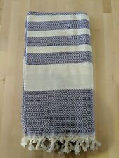 MyraMel PURPLE DIAMOND Bamboo Turkish Towel 90x180cm Bath Beach Spa Gym Yoga