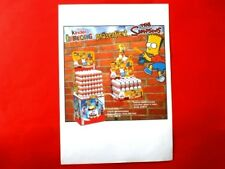 2007 FERRERO WERBEBLATT   Ü-Ei Serie  THE SIMPSONS