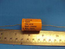 8D 1-PCS TVA-1418 Capacitor Sprague Atom 80uf 150V Tube Amp Made in USA