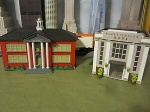 PLASTICVILLE BUILDINGS O SCALE     A