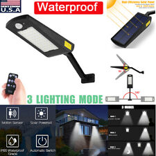 Waterproof Motion Sensor Solar Power Street Garden Yard Wall Lamp Light Outdoor