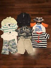 Lot Of Size 4/4T Boys Clothes. Gymboree Gap Polo Jack And Jennie And Brand Names