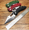D2 Blade Tactical Folding Outdoor Survival Camping Hunt EDC Tool kitchen knife
