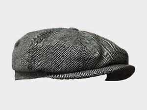 Tommy Shelby 8 PANEL,BAKER BOY,NEWSBOY,PEAKY BLINDER 1920S  FLAT CAP