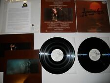Apocalypse Now Coppola Audiophile Wl Promo Japan '79 1st Exc Ultrasonic Clean