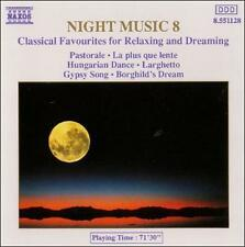 NIGHT MUSIC 8: CLASSICAL FAVOURITES FOR RELAXING AND DREAMING NEW CD