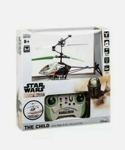 Star Wars The Mandalorian The Child in Pram 2 Channel RC Helicopter NEW