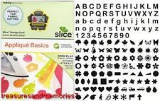 SLICE Design Card APPLIQUE BASICS 35673 MIRRORING & SHADOWING Making Memories