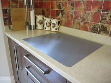 Stainless Steel Worktop Protector/Chopping Board - 1.2mm thick