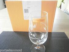 Nachtmann  Bierglas auf Fuß Vendemmia  Glas mit Schliff Neu