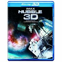 IMAX Hubble 3D BLU RAY+ BLU RAY NEW! SPACE STATION, Leonardo DiCaprio GRAVITY 0