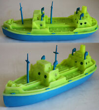 VERY RARE VINTAGE 70'S PLASTIC SHIP BOAT #2 MADE IN GREECE GREEK 30cm NEW !