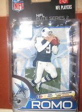 McFarlane NFL elite Series 2 TONY ROMO Dallas Cowboys VARIANT FOOTBALL FIGUR