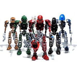 LEGO Bionicle Toa Metru Complete Set of 6: 8601 8602 8603 8604 8605 8606