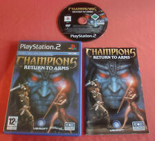 Playstation PS2 Champions Return to Arms  [PAL Fr] Two Slim Norrath *JRF