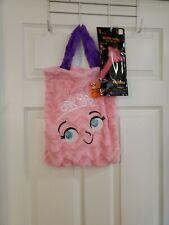 """Pink Furry Princess Treat Bag & 8"""" Pink Princess Glow Wand BRAND NEW!"""